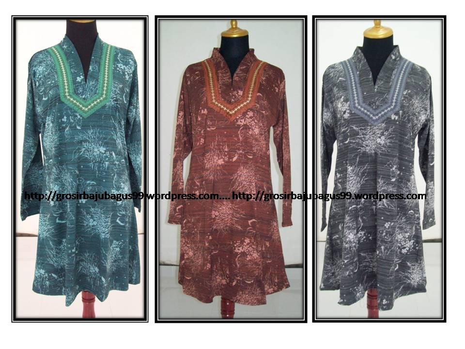 Kaos Muslim Jumbo Gamis Muslim Blouse Cantik Baju